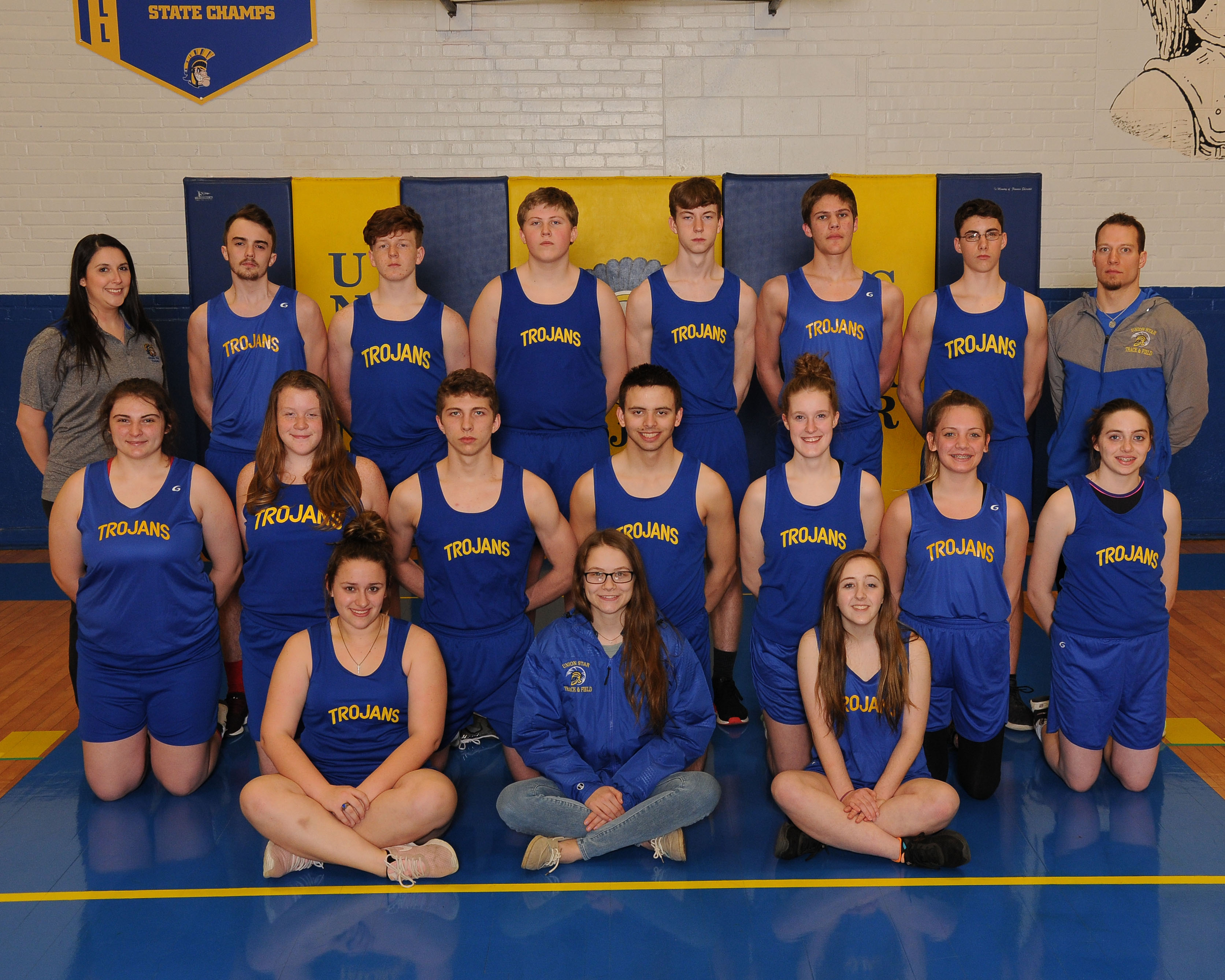 2018 Union Star High School Track Team